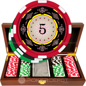 Decorative Poker Chip Set