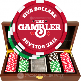 The Gambler Poker Chip Set