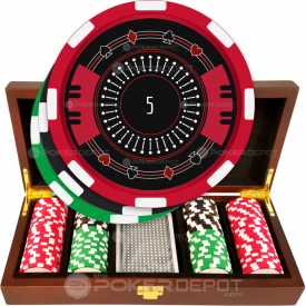 Stylish Elegant Poker Chip Set
