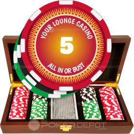 All In Poker Chip Set
