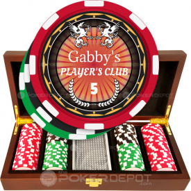 Player's Club Poker Chip Set
