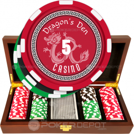 Dragon Casino Poker Chip Set