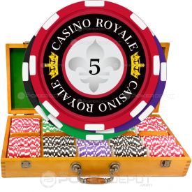 Casino Royale Poker Chip Set