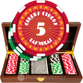 Circus Style Poker Chip Set