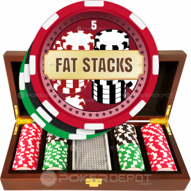 Fat Stacks Poker Chip Set