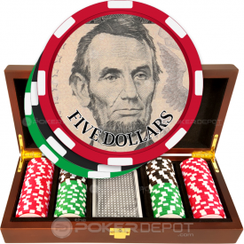 US Currency Poker Chip Set