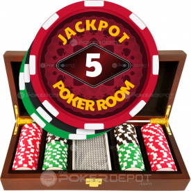 Jackpot Poker Room Chip Set