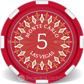 Monte Carlo Casino Poker Chips Front
