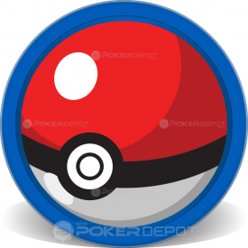 Pokemon Team Poker Chips Front