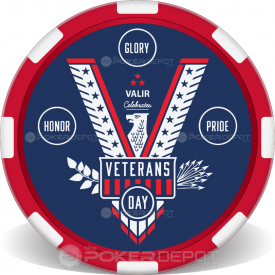 Veterans Day Eagle Chips Front