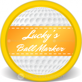 Ball Marker Chip Front