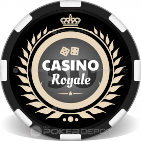 Crown Royal Poker Chip Front