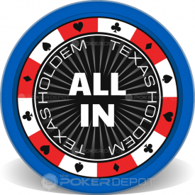 Suits Border Poker Chips Front