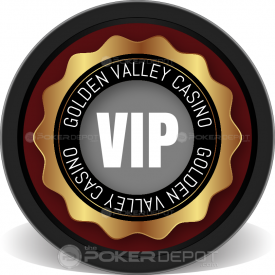 VIP Monogram Poker Chips Front