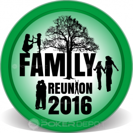 Family Reunion Poker Chips Front