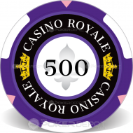 Casino Royale Poker Chip Front