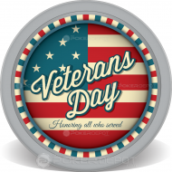 Veterans Day Retro Chips Front