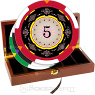 Decorative Poker Chip Set Front