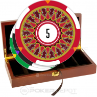 Exclamation Poker Chip Set Front