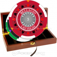 Bellagio Las Vegas Poker Chip Set Front
