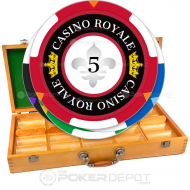 Casino Royale Poker Chip Set Front