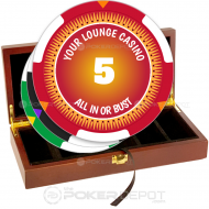 All In Poker Chip Set Front