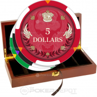 Royal Wings Poker Chip Set Front