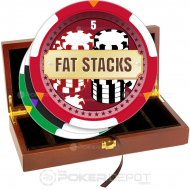 Fat Stacks Poker Chip Set Front