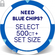 Circus Style Poker Chip Set - Back 5