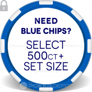 Man Cave Poker Room Chip Set - Back 5