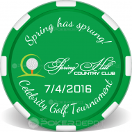 Golf Tournament Event Front