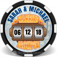 Married Jackpot Slot Machine Front