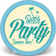 Summer Beach Party Front