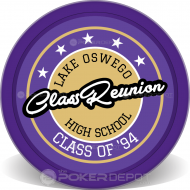 Class Reunion Badge Front