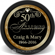 50th Wedding Anniversary Front