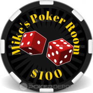 Roll the Dice Poker Room Front