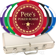 Build Your Own Poker Chip Set Front